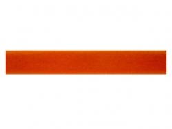 Ruban velours orange