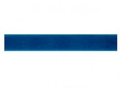 Ruban velours bleu