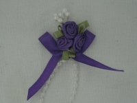 Rose Triple + Perle purple