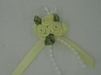 Rose Triple + Perle jaune