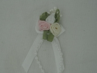 Rose Triple + Perle blanc