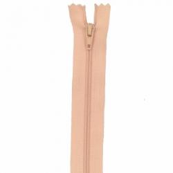 Fermeture 15cm abricot