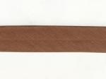 Biais 30 mm brun moyen