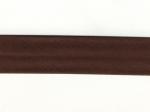 Biais 30 mm brun foncé