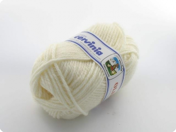 Fil à tricoter Olimpia Blanc Cassé