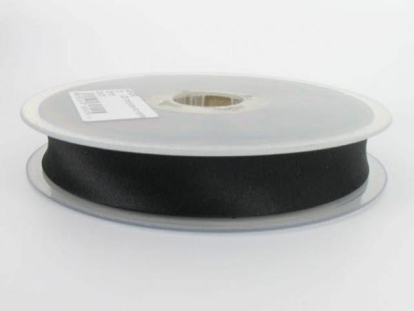 biais satin 20 mm noir