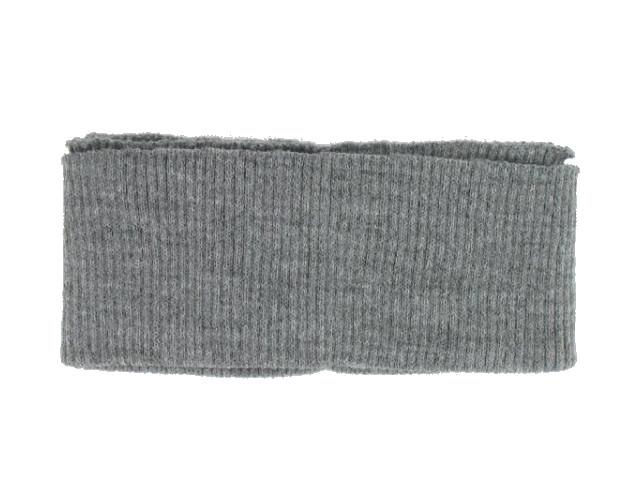 Bord côte ceinture gris foncé