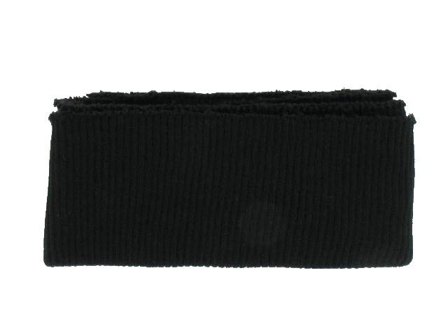 Bord côte ceinture noir