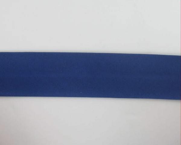 Biais textiles 40 mm bleu royal