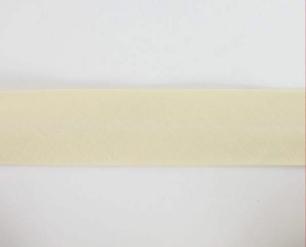 Biais textiles 40 mm ecru