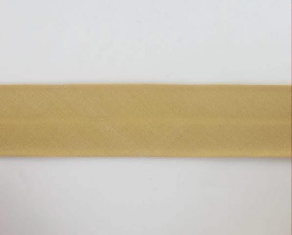 Biais textiles 40 mm bronze