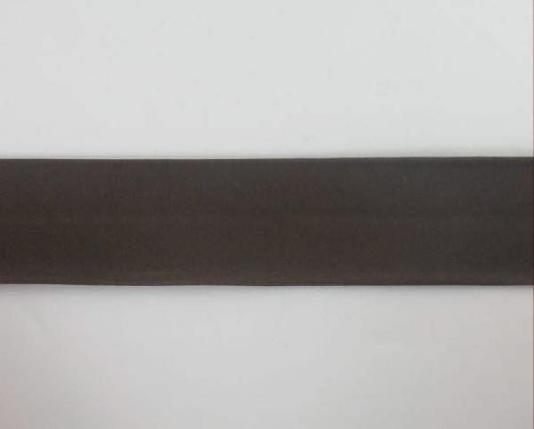 Biais textiles 40 mm brun foncé