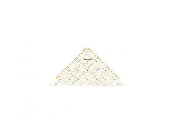 Triangle 1/2 carré, 15 cm