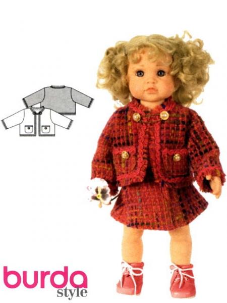 Patron habit de poupée