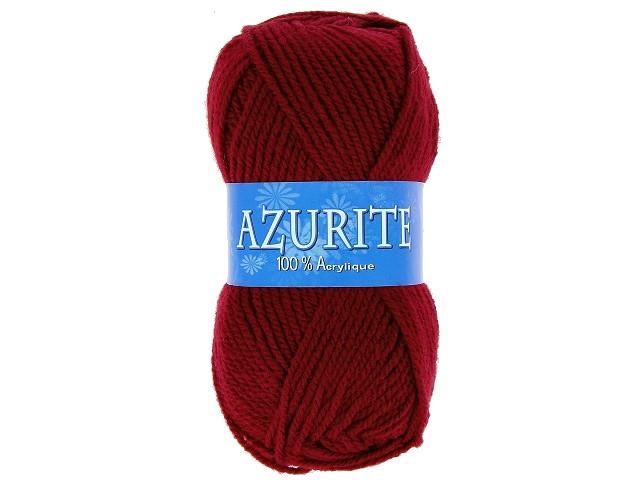 Fil à tricoter azurite Bordeaux