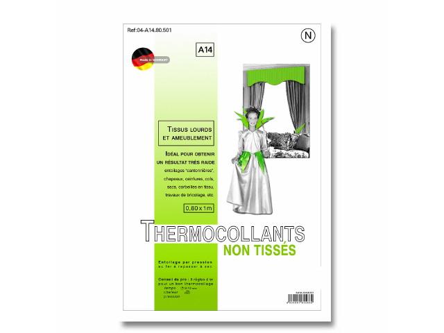 Thermocollant tissus lourds et ameublement