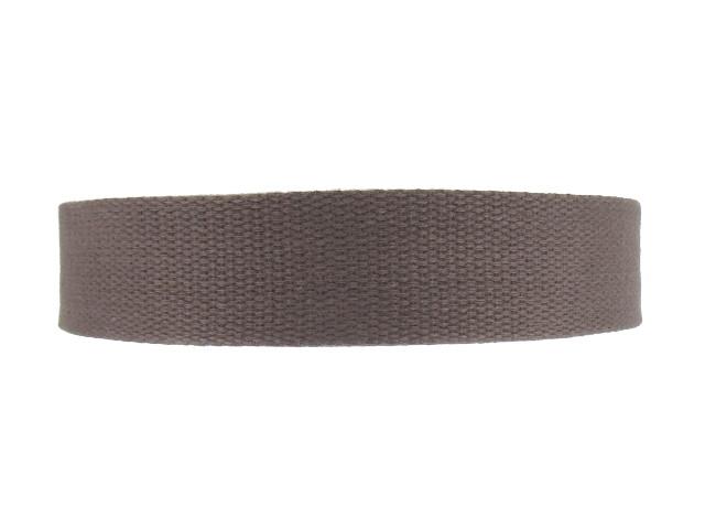 Sangle Coton 23mm marron