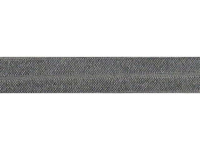 Biais élastique pré plié 15mm Gris