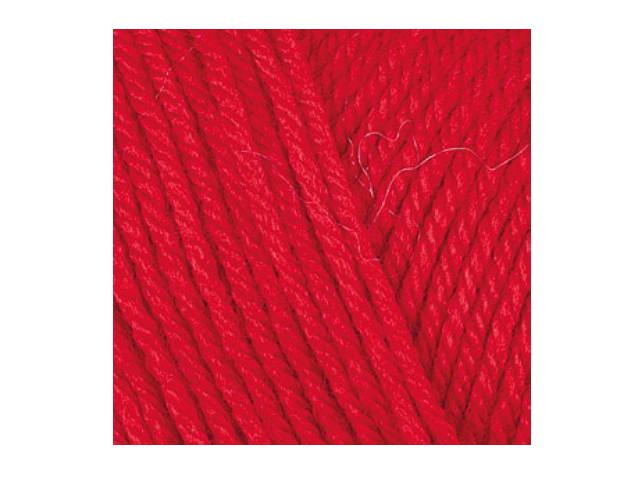 Fil à tricoter Everyday Bebe rouge