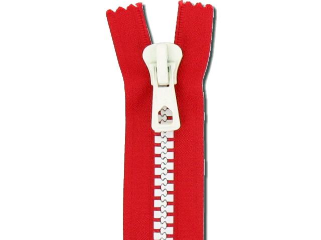 Fermeture bicolore 55 cm séparable