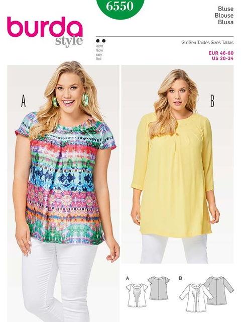 Patron blouse 6550