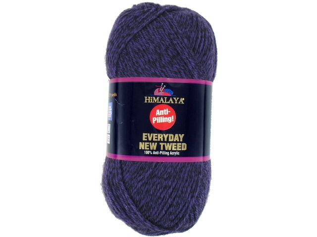 Laine Everyday New Tweed violet 115