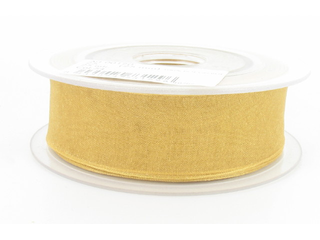 Ruban organdi 7mm gold