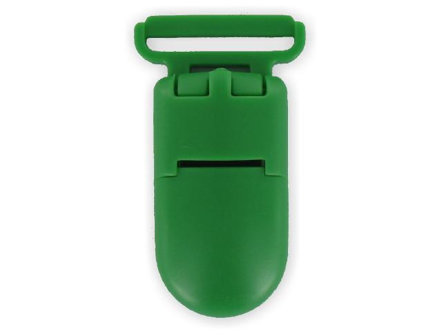 Clips plastique vert