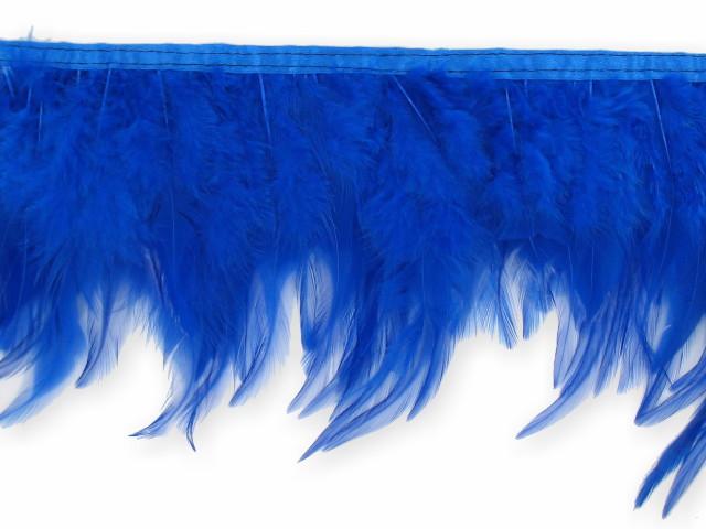 """Galon """"Plume"""" bleu"""