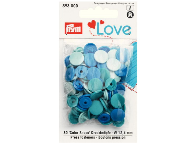 Boutons pression color snaps Prym Love