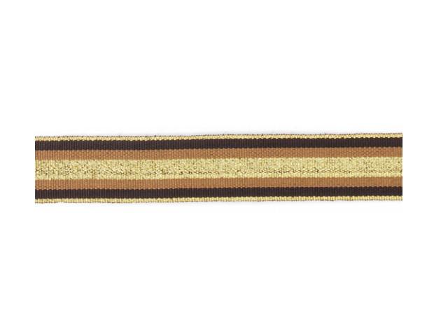 galon gros grain multicolore 25mm