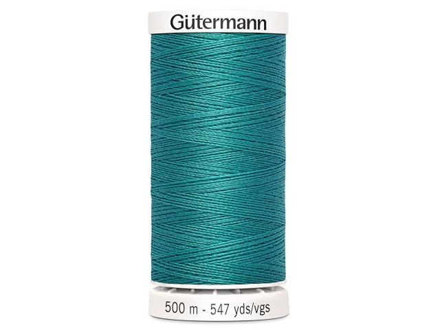 Fil à coudre Gütermann 500m col : 107 turquoise