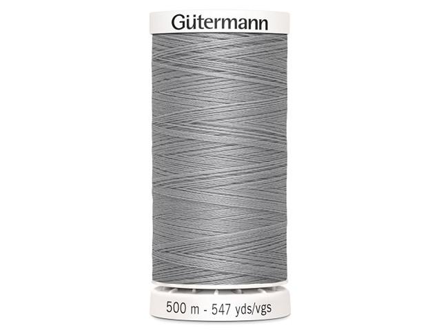 Fil à coudre Gütermann 500m col : 038 gris