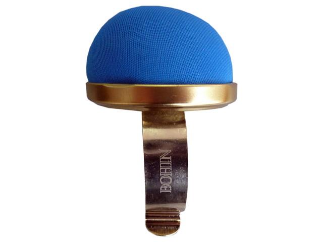 Bracelet porte épingles doré bleu