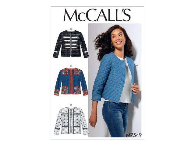 Patron McCall's M7549