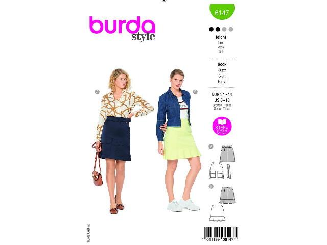Patron de couture Burda Jupe 6147