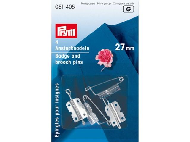 Epingles pour insignes 27mm