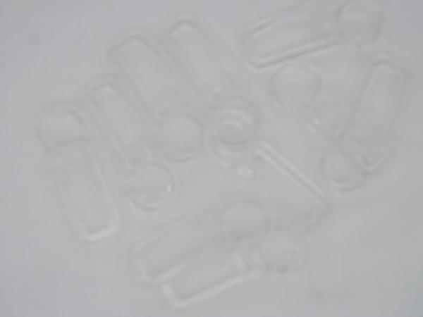 Crochet rideaux transparent
