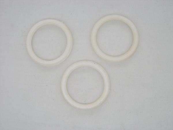 Anneaux rideaux blanc diamètre 20mm
