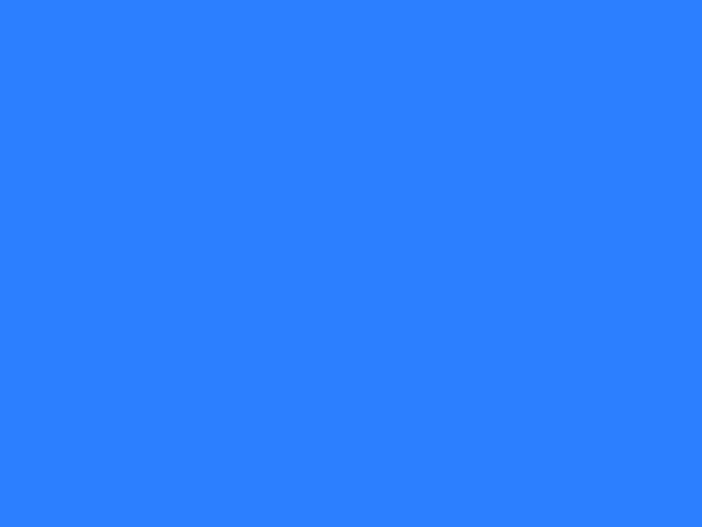 Ruban satin 16mm blue