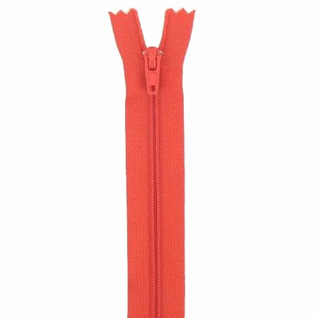 Fermeture 18cm Rouge orangé