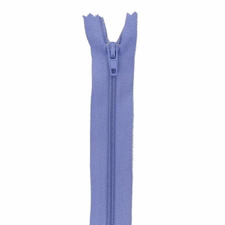 Fermeture 15cm lilas bleu
