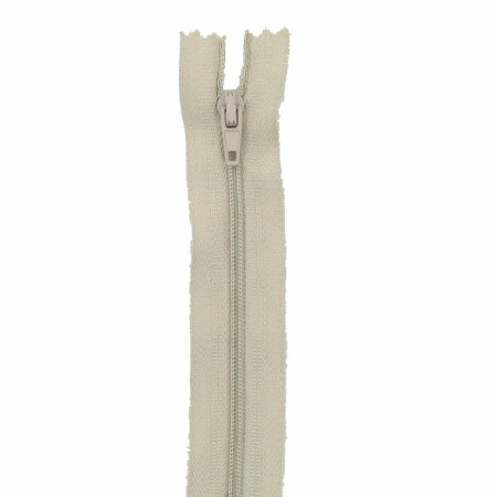 Fermeture 15cm beige