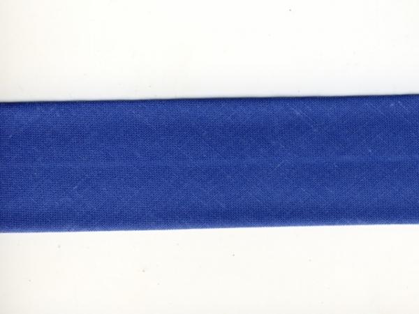 Biais 30 mm bleu